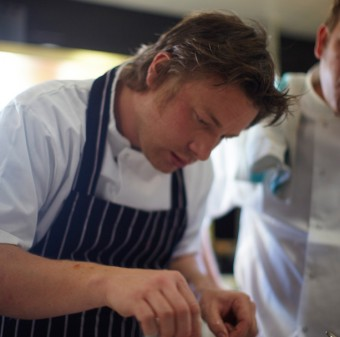 Jamie Oliver at Barbecoa